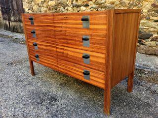 Mueble cajonera vintage mid-century