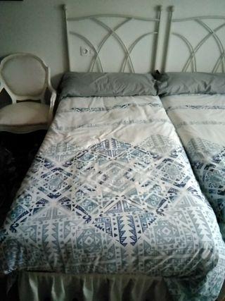cama de 90 (colchón y sommier)