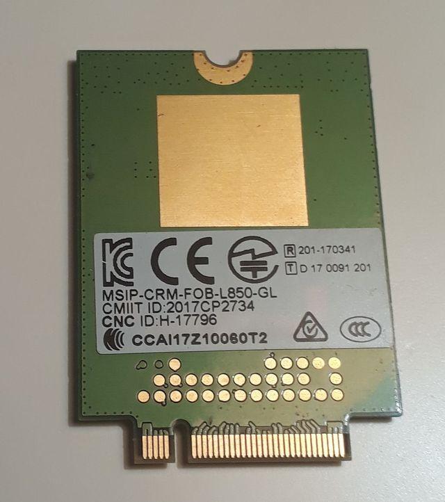 Tarjeta inalambrica Fibocom L850-GL WWAN 4G LT4210