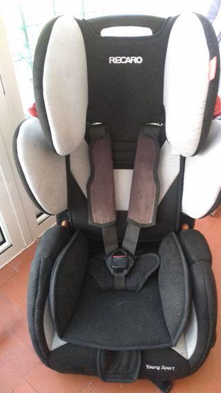 silla infantil para coche grupo I-II-III Recaro
