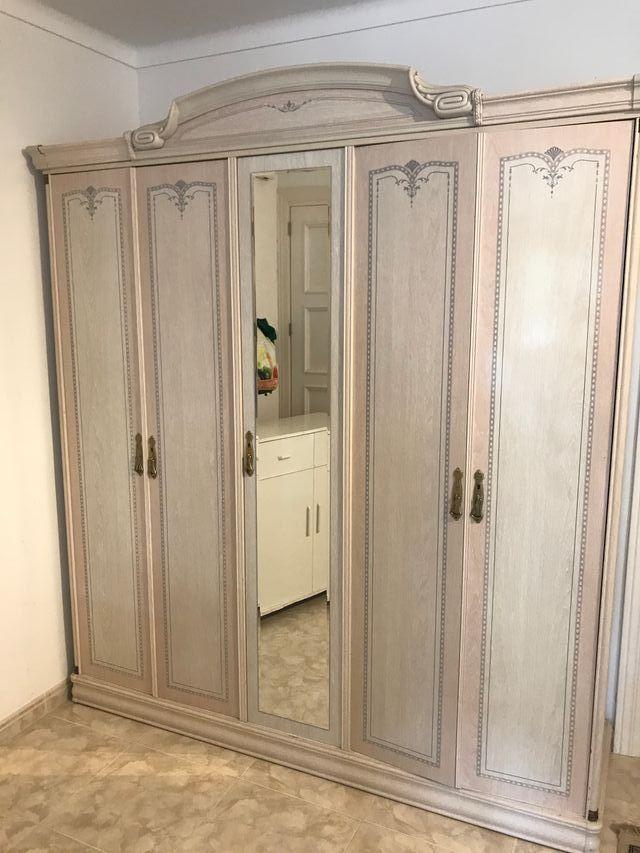 armario estilo frances 5 puertas