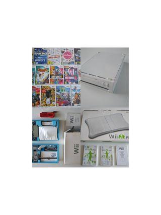 Wii+1 mandos+4 juegos+Wii balance board