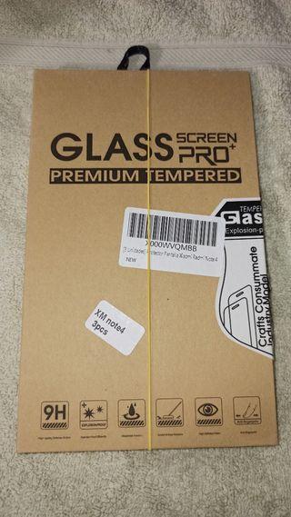 Cristal protector Xiaomi redmi note 4 x2