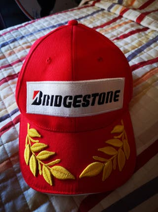 gorra original Bridgestone laureles campeón