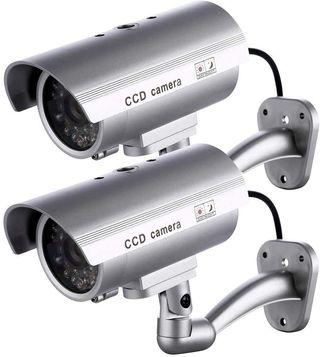 2 X Camaras Falsas de Seguridad