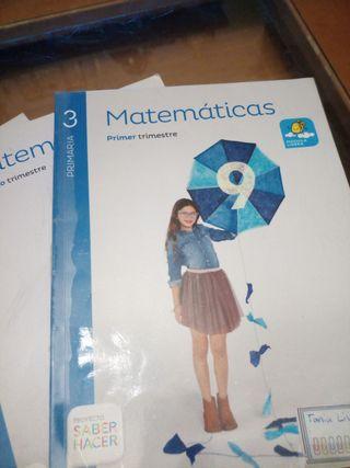 libros matematicas 3 primaria