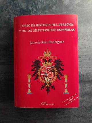 Libro Historia de las Instituciones Españolas 2019