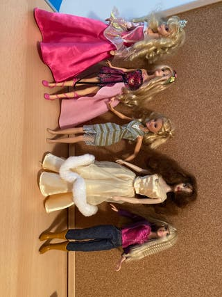 Barbies y princesas