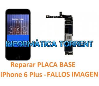 Reparar Placa Base IPhone 6 Plus FALLOS EN PANTALL