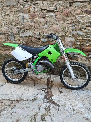 Kawasaki kx 125cc 1998 vieja escuela