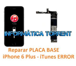 Reparar Placa Base IPhone 6 Plus ERRORES ITunes