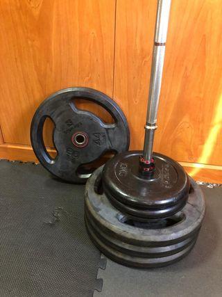 Discos/pesas/gimnacio