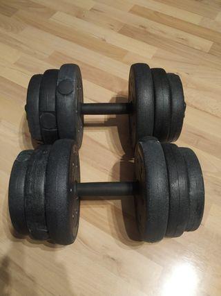 Mancuernas pesas