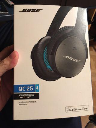 Vendo auriculares Bose QC 25