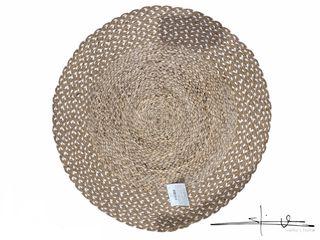 Alfombra Redonda Yute - Natural