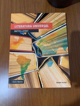 LIBRO DE PRIMERO DE BACHILLER LITERATURA UNIVERSAL