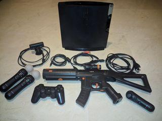 Playstation 3 - PS3 Slim 160Gb con accesorios