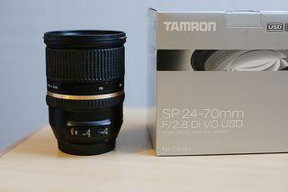 24-70 mm f/2'8 estabilizado, para Canon