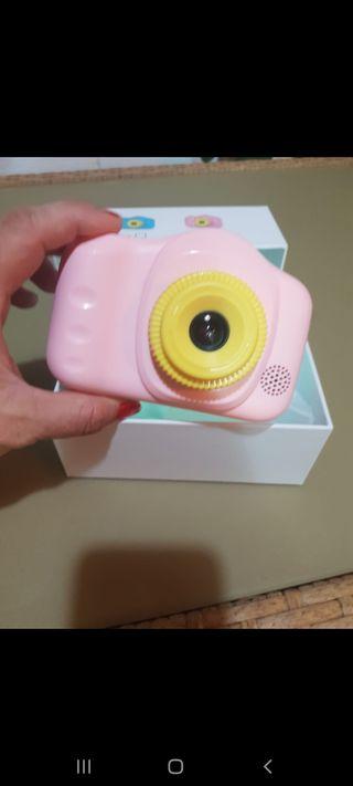 cámara fotos niña