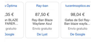 Rayban Blaze Wayfarer