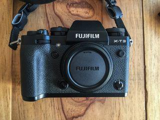 Cámara fujifilm FUJI xt3 (cuerpo)