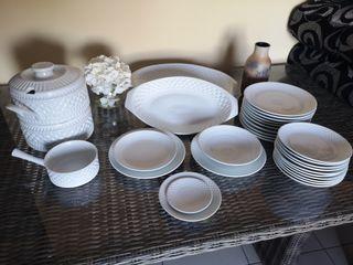 vajilla primera calidad ceramica CASTRO SARGADELOS
