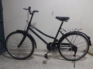 Bicicleta de paseo original muy ligera