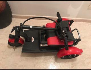 Scooter 3 ruedas eléctrico plegable