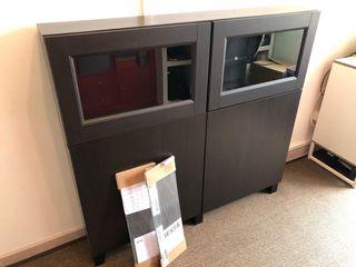 BESTA - Mueble Ikea - vitrina