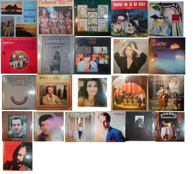 Lote de 22 LP de Vinilo antiguos