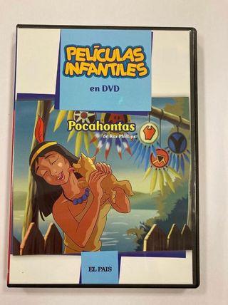 Dvd Infantil - Pocahontas