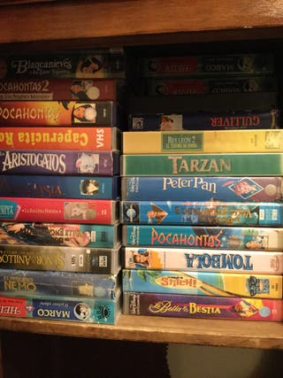 Gran colección películas casete de Disney