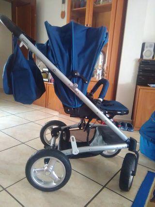 carrito de bebe de 3 piezas