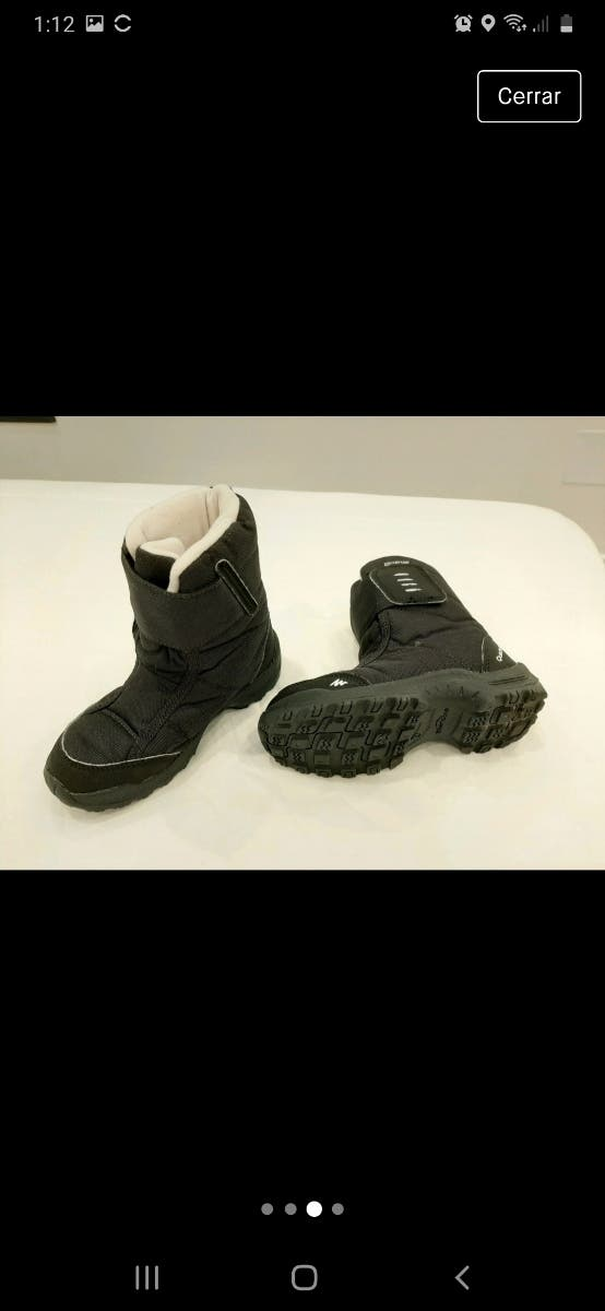 Botas waterproof para nieve - Quechua
