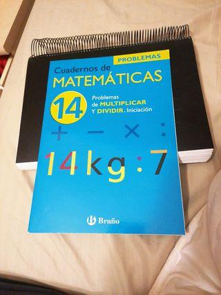 cuaderno de refuerzo de matemáticas iniciación