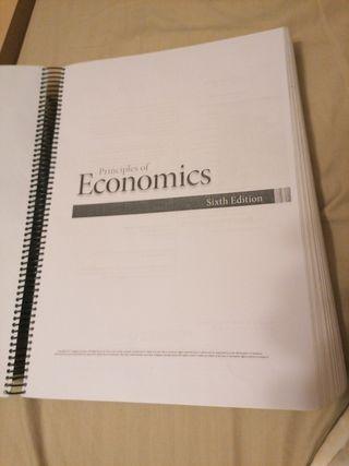 principios de la ecomomia,apuntes para ADEbilingüe
