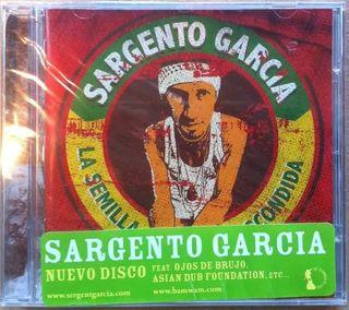 SARGENTO GARCIA * CD * LA SEMILLA ESCONDIDA *LTD