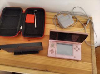 Nintendo ds3 rosa