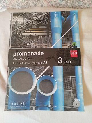 libros de francés, Promenade 3 ESO