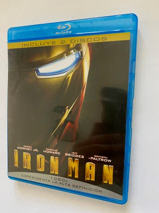 IRON MAN (2 DISCOS) - BLU RAY