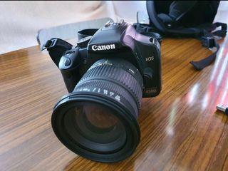 Canon eos 450 con objetivos
