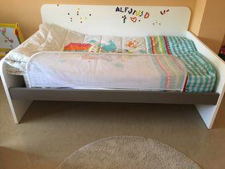 Barrera cama para niños o adultos