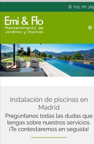 piscinas en Madrid