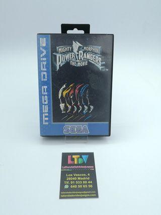 Power Rangers Mega Drive