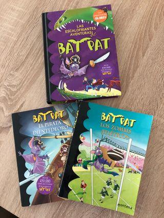 Pack 3 libros Bat Pat