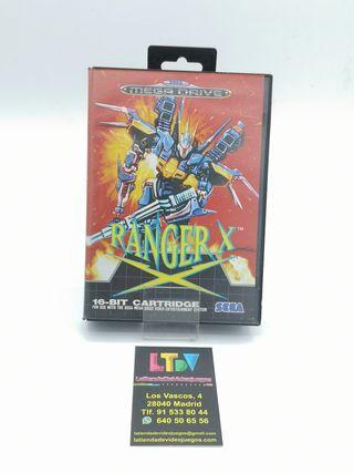 Ranger X Mega Drive