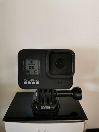 GoPro Hero 8 + Accesorios + Seguro
