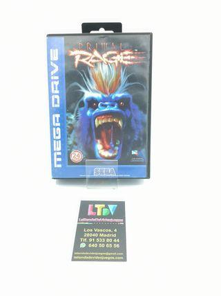 Primal Rage Mega Drive
