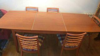 muebles comedor completo. madera maciza
