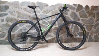 Bicicleta montaña carbono